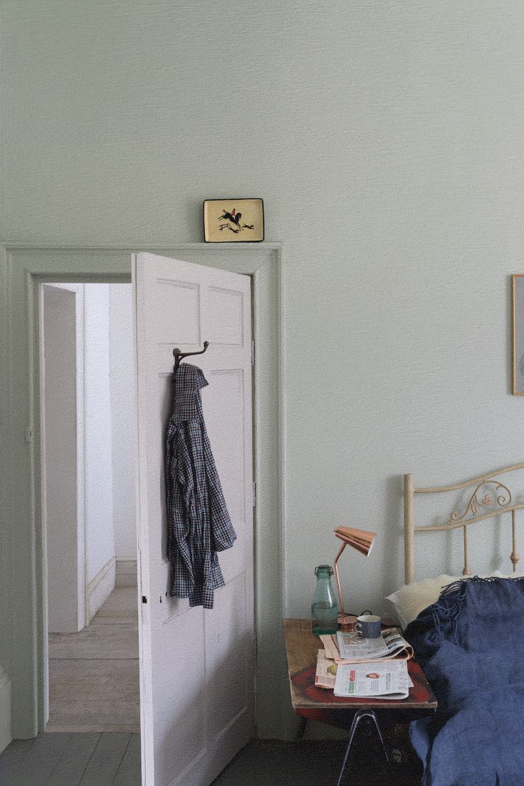 CROMARTY by Farrow & Ball. Inspired by sea mist and named after the Cromarty Firth estuary, a place of swirling mists mentioned daily in The Shipping Forecast, which is in itself part of the fabric of British coastal life.