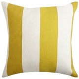 Alpine Cushion 50x50cm Mustard -- i love stripes on cushions and sofas, they add a feel of summer to everything