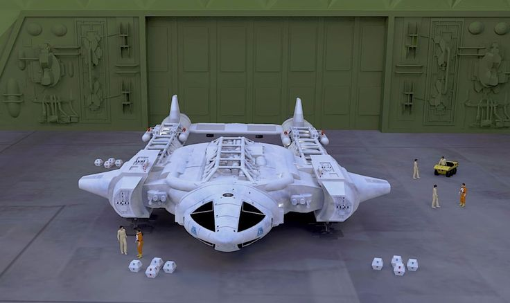 Space 1999 Twin Tail Eagle Concept Space 1999 Ships