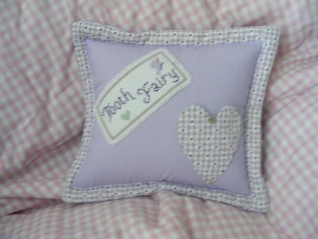 handmade tooth fairy cushion - Folksy