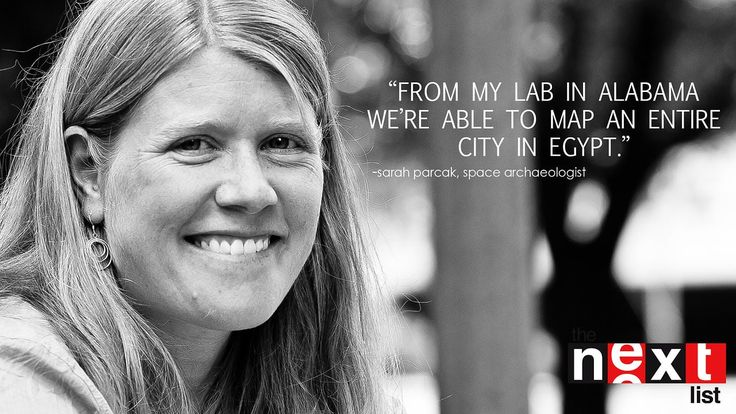 Sarah Parcak, Space Archaeologist -- PART 1