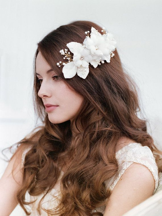 Bridal hair comb  Wedding Hair Accessories by TheWeddie on Etsy, €120.00