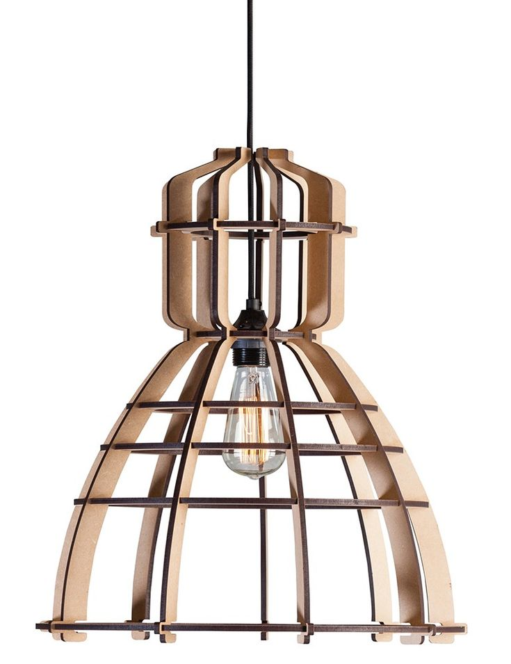 25 beste idee n over houten lamp op pinterest houten for Exclusive lampen