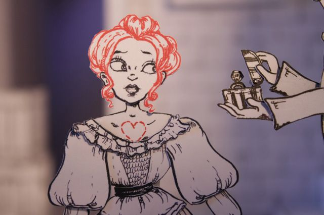 """I Have Your Heart"" is a collaborative stop-motion animated film project by Molly Crabapple (art), Kim Boekbinder (music) and Jim Batt (animation). The film takes Crabapple's draw…"