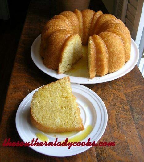 Butter cake w//rum | For the LOVE of Cake! | Pinterest