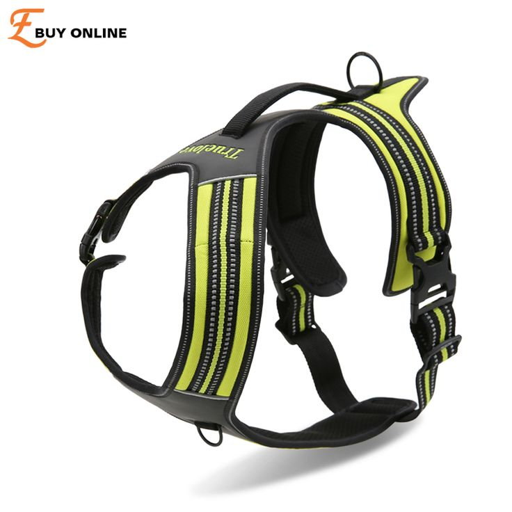 2016 TrueLove New Branded High Quality Pet Large Dog Harness Vest Retriever Big Dog Training Harness arnes del perro Free Ship #Affiliate