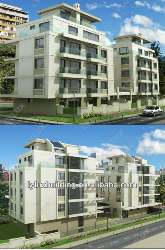 Modern Service Apartment Prefab Steel Luxury View Lylux Product Details From Shanghai Business Limited On Alibaba