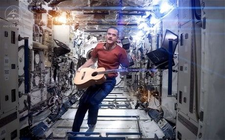 Chris Hadfield, the Canadian astronaut best known for his rendition of 'Space Oddity', says it was the wine country of New Zealand that most caught the eye from outer orbit