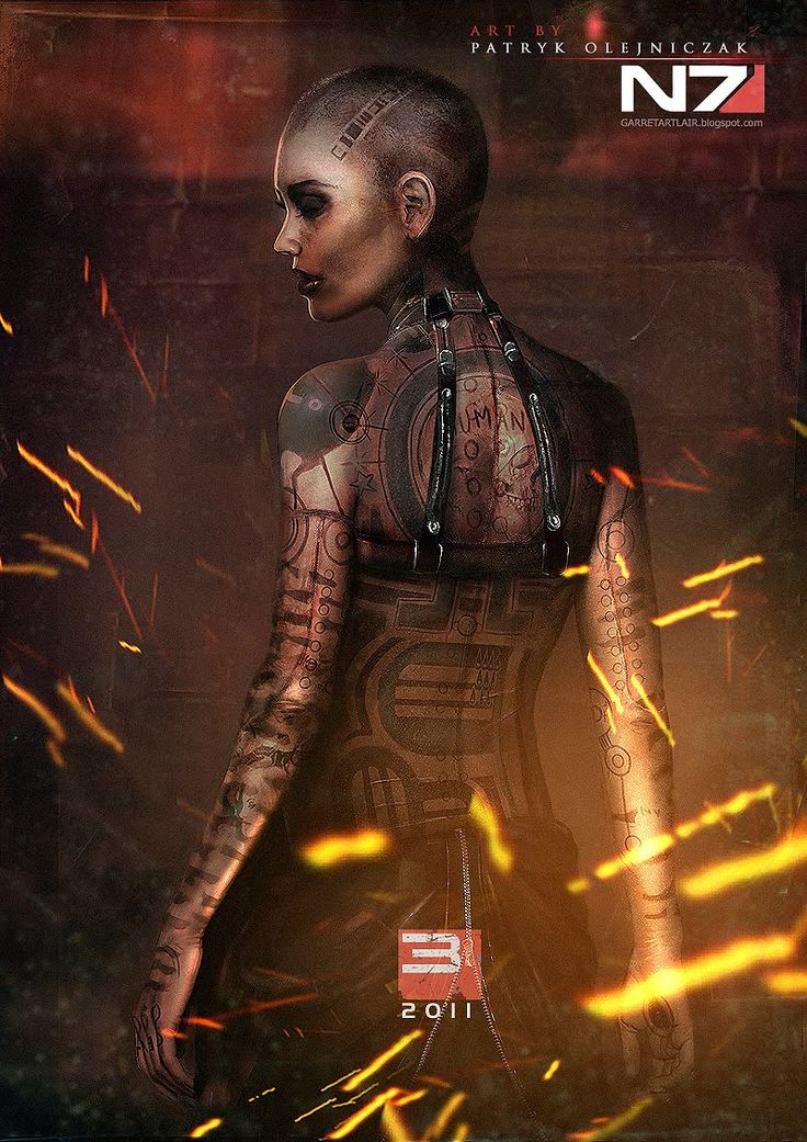 Jack (Subject Zero) By Patryk Olejniczak #masseffect I love her character :)
