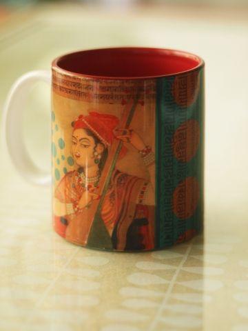 Sitar Queen Mug