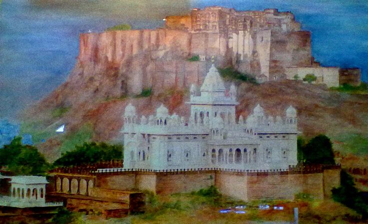Mehrangarh fort & Jaswant Thada by my point of view.