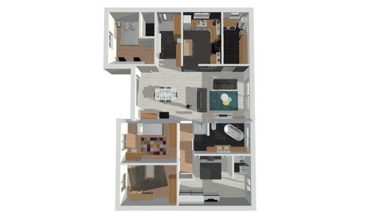 Plan De Maison 120M2. Affordable Plan De Maison N With Plan De