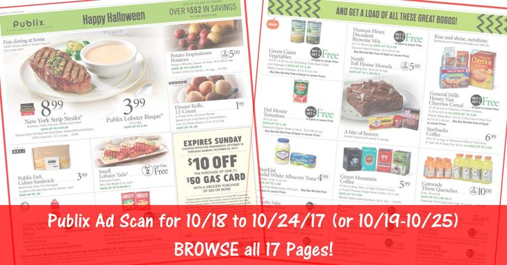 READY to BROWSE the actual upcoming Publix Weekly Ad Scan? Here is the Publix Weekly Ad Scan for 10/18/17 - 10/24/17 (or 10/19-10/25 for Some)! Click the Picture below to BROWSE all 17 Pages ► http://www.thecouponingcouple.com/publix-weekly-ad-scan-101817-102417/  #CouponCommunity #earlyad #PublixAd #PublixDeals #PublixAdPreview  Visit us at http://www.thecouponingcouple.com for more great posts!