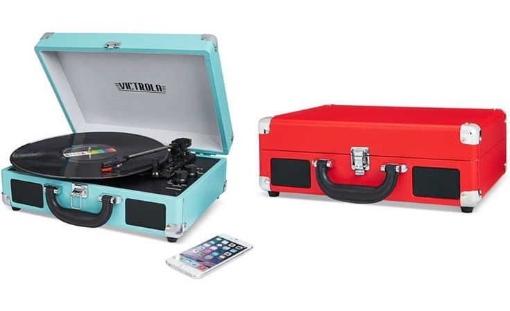 Innovative Technology Victrola Suitcase Record Player with Bluetooth - Gifts & Games - Men - Macy's