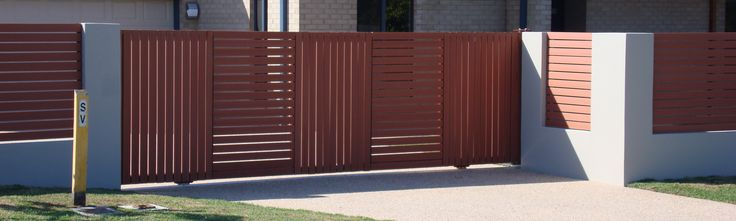 Brisbane gate made by Brisbane Automatic Gate Systems #gate #automaticgate #residentialgate #slidinggate