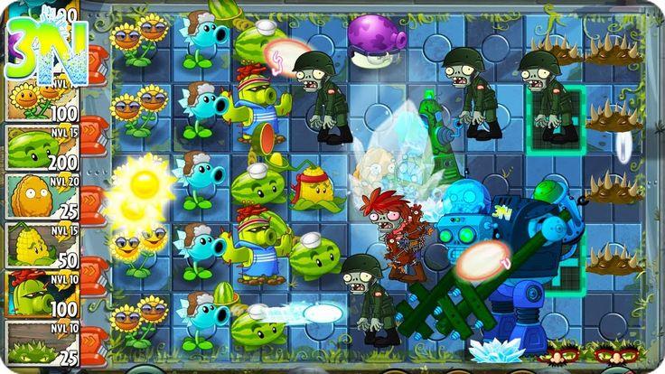 Plants vs. Zombies 2 | ATACANDO solo con PLANTAS del PvZ 1 | Curiosidades
