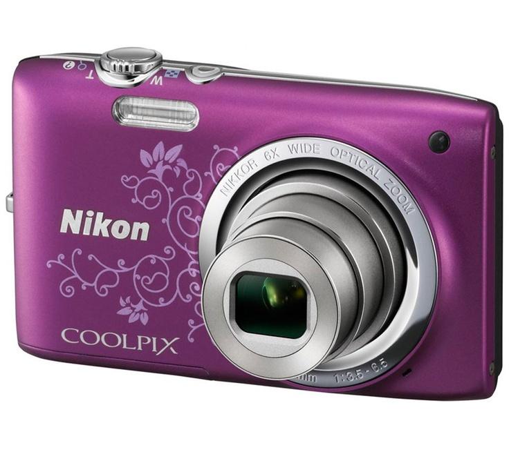 NIKON Coolpix S2700 - decorative purple