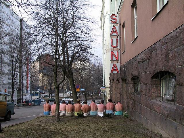 Harjutorin sauna, Helsinki, Finland