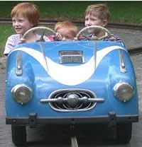 This site has ideas for preschool transportation