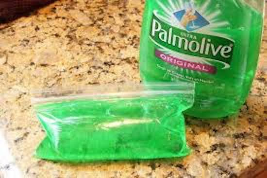 glace fond moins vite liquide vaisselle