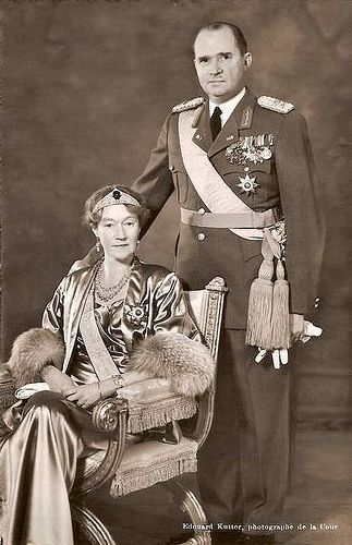 Grand Duchess Charlotte and Prince Felix of Bourbon Parma