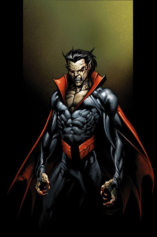 Ultimate morbius by mark bagley