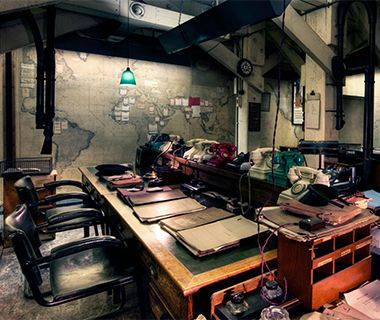 World's Coolest Underground Wonders: Cabinet War Rooms,Cabinet War Rooms, London
