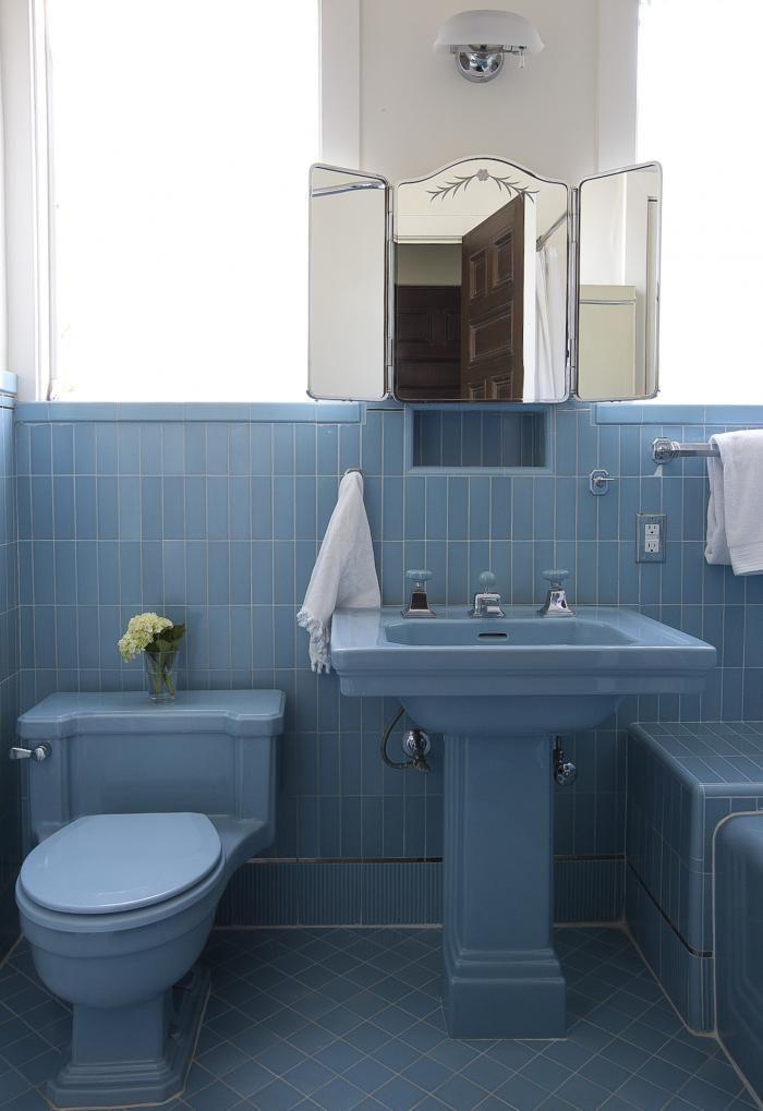 125 best Vintage Bathrooms images on Pinterest | Vintage bathrooms ...