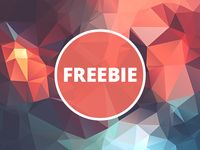 Free Polygonal / Low Poly Background Texture #28