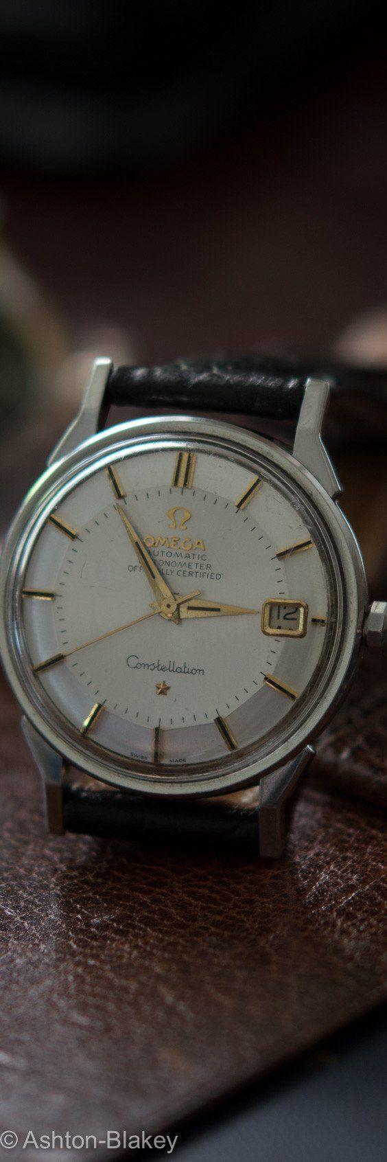 Omega constellation watch #vintage