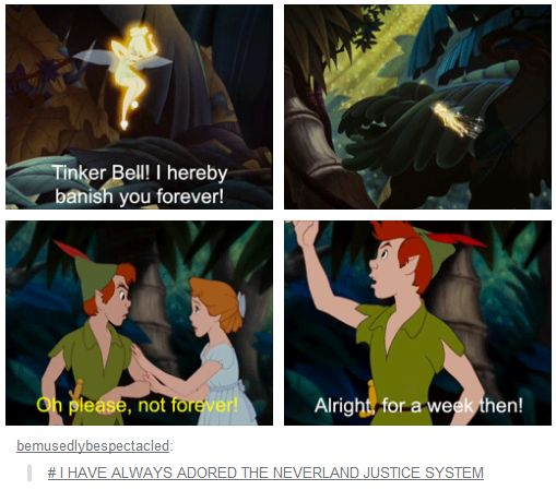 Peter Pan is my favourite tale EVER. Sorry Lion King, Sleeping Beauty, Beauty and Beast and so on, but you just can't compare..