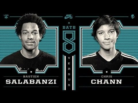 Chris Chann Vs Bastien Salabanzi: BATB8 - Round 1 - http://DAILYSKATETUBE.COM/chris-chann-vs-bastien-salabanzi-batb8-round-1/ - http://www.youtube.com/watch?v=tN7At4FPicQ&feature=youtube_gdata  Chris Chann and Bastien Salabanzi battle it out in a game of S.K.A.T.E. during the first round of Battle at The Berrics 8. The eighth installment of Battle At The Berrics features your top... - bastien, BATB8, CHANN, chris, Round, salabanzi