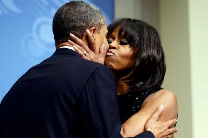 1st Lady Michelle Obama & President Barack Obama...