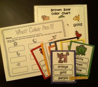 The Kindergarten Center: Brown Bear