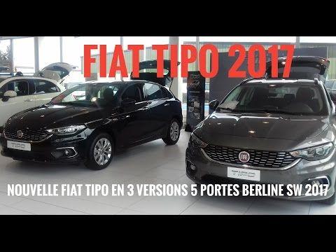 passion voiture hybride: Nouvelle Fiat TIPO 2017 en 3 versions  essai et re...