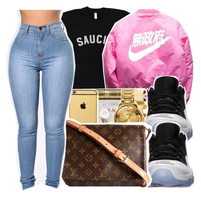 """""""Zoovie Zoo ~ Fetty Wap ✨"""" by viinextdoor ❤ liked on Polyvore featuring Retrò and Louis Vuitton"""
