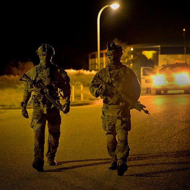 Australian Army commandos take part in exercise Northern Shield 2015. #Australian #Army #Commandos #SOF