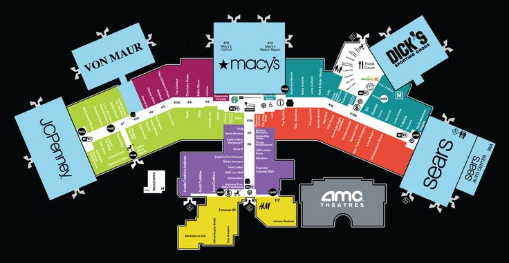 13 best Mall Maps images on Pinterest | Mall, Acceptance and Advice