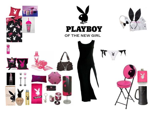 PLAYBOY by mayleneholm on Polyvore featuring Jean-Paul Gaultier, Fleur du Mal, Playboy and castro