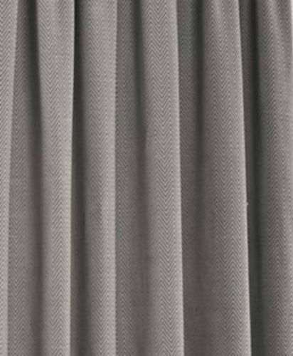 Details About Herringbone Tweed Chenille Lined Curtains Silver Grey Tape Top 46 66 90 108 Pr