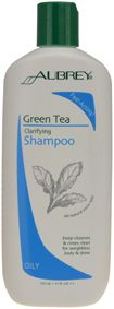 Aubrey Organics Green Tea Clarifying Shampoo for Oily Hair, good with frizzy flyaway hair. Want shiny, healthy-looking hair in a hurry? This fast-acting clarifying shampoo deep-cleanses without overdrying with just one application & rinses clean to leave hair shiny, bouncy & full. Herbal extracts deliver beneficial nutrients quickly & reduce drying time for fast and easy styling. No second lather! http://www.theremustbeabetterway.co.uk/aubrey-organics-green-tea-clarifying-shampoo.html