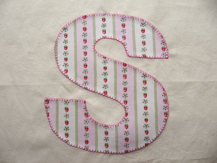 sewing machine embroidery letters
