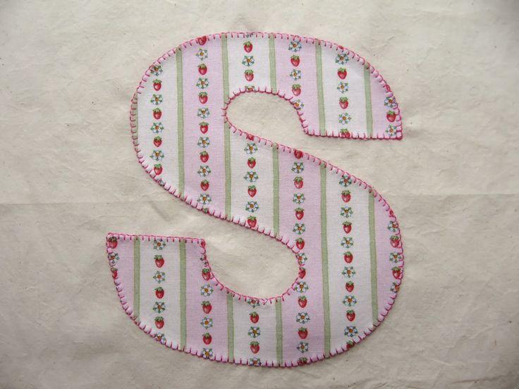 machine embroidery applique letters