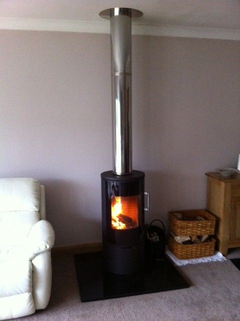 18 Best Contemporary Wood Burning Stoves Images On