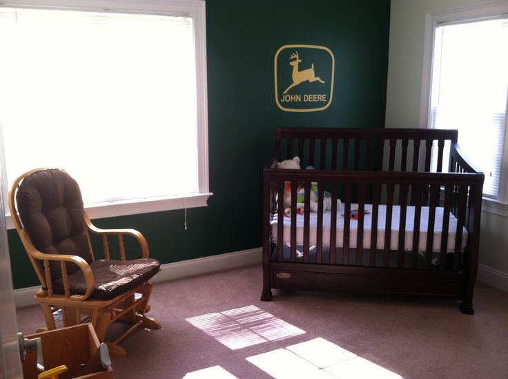 John Deere Boys Bedroom : Baby boy s john deere room stuff