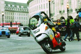 SPECIFICATION OF BMW C1 2000