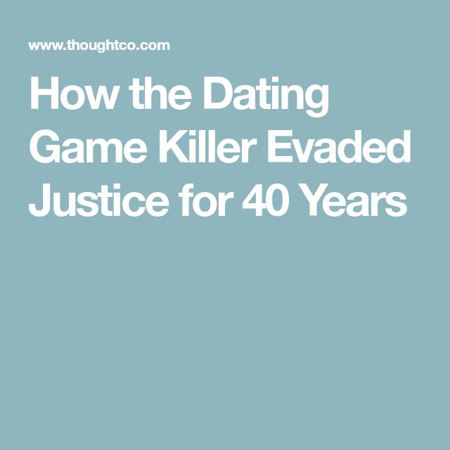 How the Dating Game Killer Evaded Justice for 40 Years