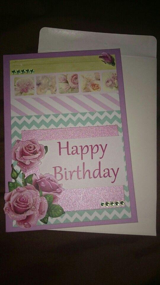 Womens birthday card