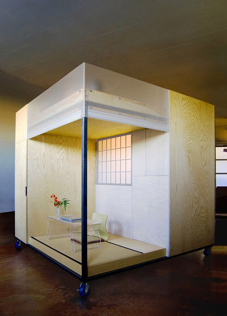 spaceflavor architecture: small space living in a cube