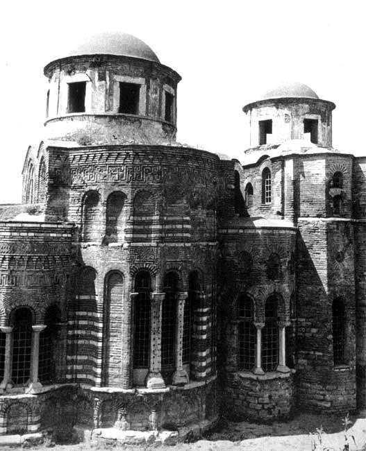 Istanbul, Theotokos of Lips (Fenari Isa Cami), exterieur